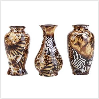 Jungle Bud Vases