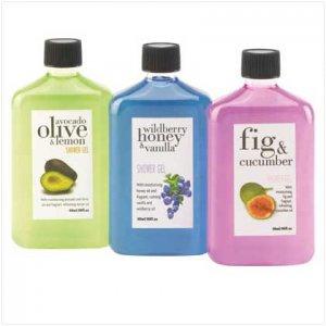 Mediterranean Shower Gels