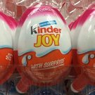 6 Pieces of Kinder Joy with Surprise (For Girl)