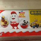 1 Box (3 Eggs) Minions chocolate Surprise inside 20g Each