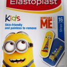 1 Pack of Elastoplast Kids Minion Despicable Me Characters Plasters