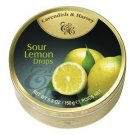 Cavendish And Harvey Fruit Hard Candy Sour Lemon Drops - 150g