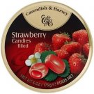 Cavendish And Harvey Fruit Hard Candy Strawberry Drops - 175g
