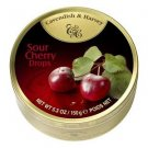 Cavendish And Harvey Fruit Hard Candy Sour Cherry Drops - 150g