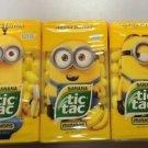 Tic Tac Limited Edition Despicible Me Minion Bundle, Kevin, Bob and Stuart, 49g