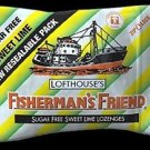 (Pack of 12) Fisherman's Friend 25g Sachet SF Sweet Lime