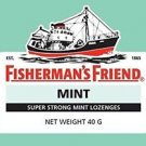 (Pack of 6) Fisherman's Friend 40g Strong Mint