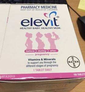 Elevit Pregnancy 100 Tablets