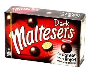 Maltesers Chocolate 90g X 3 Boxes (Dark Chocolate)