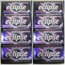 (Pack of 16) Eclipse Sugarfree Mints - Blackcurrant 34g