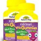 Nature's Way Kids Smart Vita Gummies Multivitam + vegies 60 soft pastilles