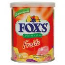 Foxs Crystal Clear Fruits Candy 180g