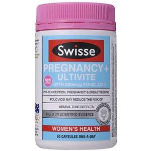 Swisse Pregnancy + Ultivite 90 Capsules (Australia Import)