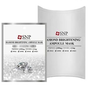 SNP DIAMOND BRIGHTENING AMPOULE MASK 10 PIECES PACK (KOREA IMPORT)