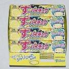 "12 BIG PACKS-  ""HI CHEW"" MORINAGA SOUR LEMON CHEWY & TASTY JAPANESE CANDY"