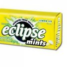 (Pack of 8) Eclipse Sugarfree Mints - Lemon Ice 34g