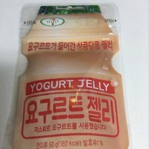 (Pack of 3) 7 Eleven Yogurt Jelly Lotte Yogurt Gummi Candy (Korea Import)