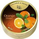 Cavendish And Harvey Fruit Hard Candy Orange Drops - 200g