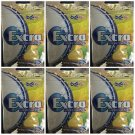 Wrigley's Extra Professional Lemon Mint Flavor (28g) x 6 packs