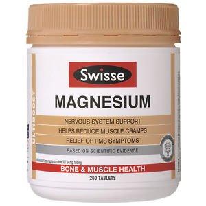 Swisse Ultiboost Magnesium 200 Tablets Exclusive Size (Australia Import)