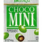 6 packs of Delfi Choco Mini Candy 40g (Peppermint Choco)