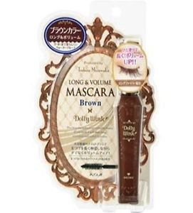 Koji DOLLY WINK Dolly Wink Long & Volume Mascara (1piece) (Brown)