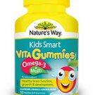 Nature's Way Kids Smart Vita Gummies Omega-3 + Multi 50 50 soft pastilles