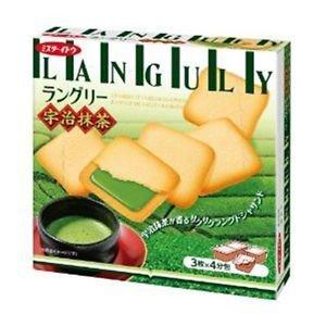 (Pack of 4) Ito confectionery Languly Uji Matcha 12 sheets