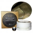 Petitfee Black pearl & gold Hydrogel Eye patch 60 ea