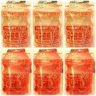 (Pack of 6) Lotte Yogurt x3, Strawberry x 3 Jelly 50g (Korea Import)