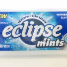 (Pack of 10) Eclipse Powerful Sugar-Free Mints - Peppermint Flavor 27g Mini Pack