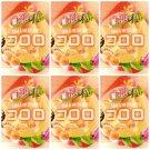 (Pack of 6) Japanese UHA Kororo Gummy Candy - Peach Flavor 40g