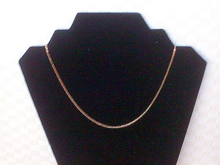 Miniscule Chain Necklace