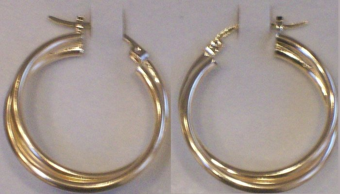 10kt Gold Hoop Earrings