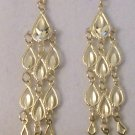 10kt Yellow Gold Chandelier Drop Earrings