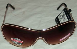 NWT FOSTER GRANT WOMEN'S DAYDREAM STYLE GOLD SUNGLASSES 100% PROTECTION!!!