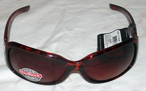 NWT FOSTER GRANT WOMEN'S TORTOISE STYLE BUTTERFLY SUNGLASSES 100% PROTECTION!!!