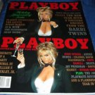 Playboy Magazine JANUARY 1993 BARBIE TWINS NM IN PLASTIC HOLDER!!!!!!
