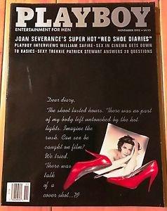 Playboy Magazine November 1992 Joan Severance Patrick Stewart Stephanie Adams