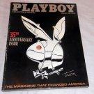 3 PLAYBOY MAGAZINE ANNIVERSARY LOT, JANUARY 1986, 1987 AND 1989 VERY GOOD!!!