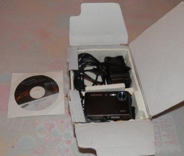 Samsung Sensory Pleasure NV3 7.2 MP Digital Camera - Black
