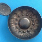 """VINTAGE WINE TASTER CUP IN HALLMARKED SILVER METAL - """"BOURGOGNES PATRIARCHE"""""""