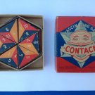 VINTAGE ANTIQUE PARKER BROS. CONTACK GAME VG CONDITION IN ORIG. VG BOX 1939 !!