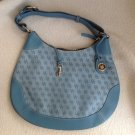 DOONEY & BOURKE LIGHT TURQUOISE LARGE HOBO STYLE PURSE RARELY WORN