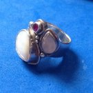 SAJEN STERLING SILVER & SEMI PRECIOUS STONES BEAUTIFUL RING SIZE 6