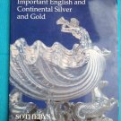 SOTHEBY'S APRIL 14, 1999 IMPORTANT ENGLISH & CONTINENTAL SILVER & GOLD