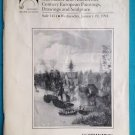 SOTHEBY'S JAN 19, 1994 OLD MASTER & 19th CENT EUROPEAN PAINTINGS DRAWINGS SCULPT
