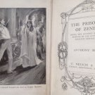 ANTIQUE VINTAGE THE PRISONER OF ZENDA BOOK BY ANTHONY HOPE. GOOD CONDITION