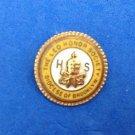 "Lapel pin, enamel and gold tone ""Leo Honor Society Brooklyn N.Y.""."