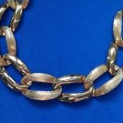 """Napier link necklace 20"""" long - gold tone."""